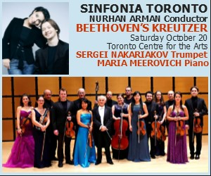 Sinfonia Toronto - 10/21/2018