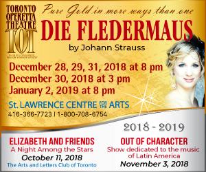 Toronto Operetta Theatre - 11/7/2018