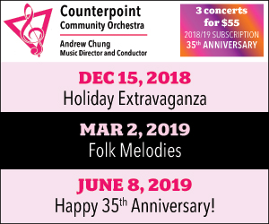 Counterpoint Community Orchestra - 12/17/2018