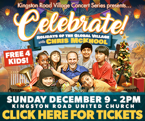 Kingston Road Village Concert Series - 12/9/2018