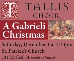 Tallis Choir - 12/2/2018