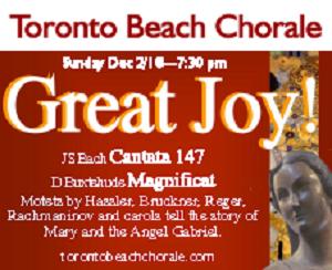 Toronto Beach Chorale - 12/3/2018