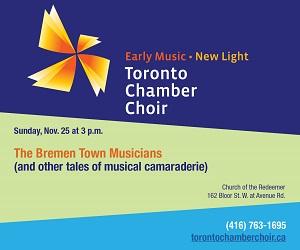 Toronto Chamber Choir - 11/26/2018