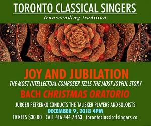 Toronto Classical Singers - 12/10/2018