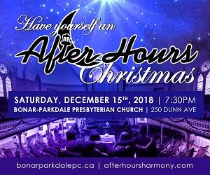 Bonar Parkdale Presbyterian Church - 12/16/2018