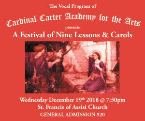 Cardinal Carter Academy for the Arts - 12/20/2018