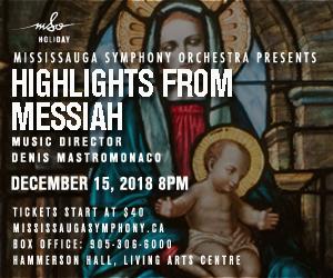 Mississauga Symphony - 12/16/2018