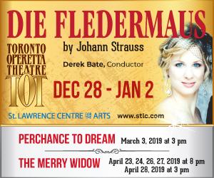 Toronto Operetta Theatre - 1/3/2019