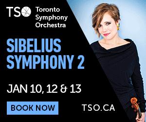Toronto Symphony Orchestra - 1/14/2019