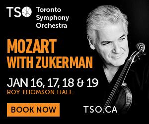 Toronto Symphony Orchestra - 1/20/2019