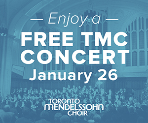 Toronto Mendelssohn Choir - 1/27/2019
