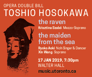U of T Faculty of Music - 1/18/2019