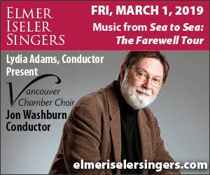 Elmer Iseler Singers - 3/2/2019