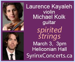Syrinx Concerts Toronto - 3/4/2019