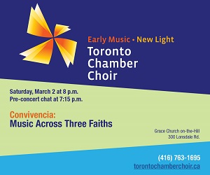 Toronto Chamber Choir - 3/3/2019