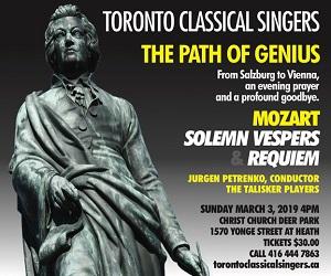 Toronto Classical Singers - 3/4/2019