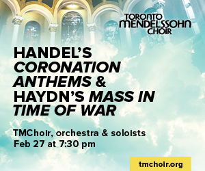 Toronto Mendelssohn Choir #2 - 2/28/2019