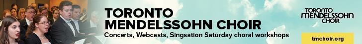 Toronto Mendelssohn Choir #1 - 3/7/2019