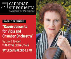 Canadian Sinfonietta - 4/1/2019