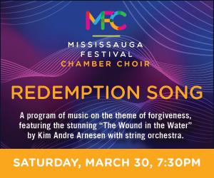 Mississauga Festival (Chamber) Choir - 3/31/2019