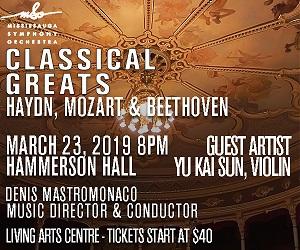 Mississauga Symphony - 3/24/2019