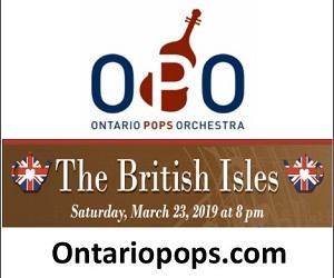 Ontario Pops Orchestra - 3/24/2019