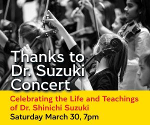 Thanks to Dr. Suzuki - 4/1/2019