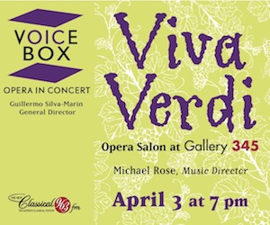 Voicebox - Opera in Concert #2 - 4/4/2019