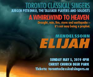 Toronto Classical Singers - 5/6/2019