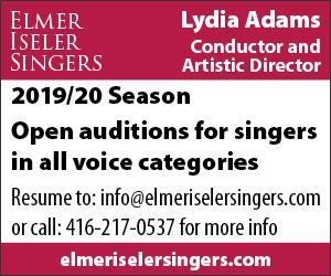 Elmer Iseler Singers - 6/8/2019