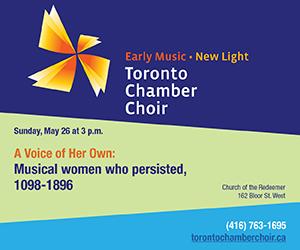 Toronto Chamber Choir - 5/27/2019