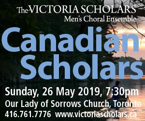 Victoria Scholars Men's Choral Ensemble - 5/27/2019