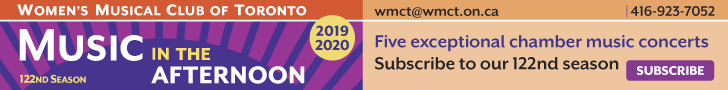 Women's Musical Club of Toronto #1 - 6/8/2019