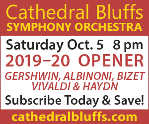 Cathedral Bluffs Symphony Orchestra - 10/5/2019
