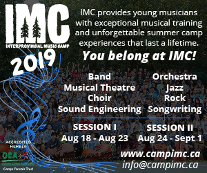 Interprovincial Music Camp - 9/1/2019