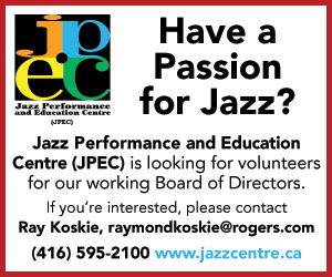 Jazz Performance & Education Centre - 9/7/2019