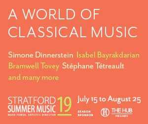 Stratford Summer Music #2 - 8/26/2019