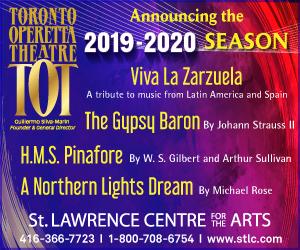 Toronto Operetta Theatre - 9/8/2019