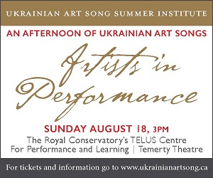Ukrainian Art Song Project - 8/19/2019