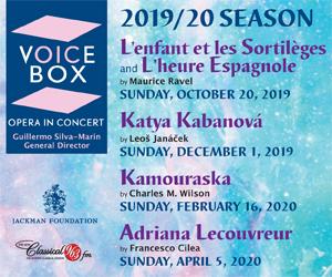 Voicebox - Opera in Concert - 9/8/2019