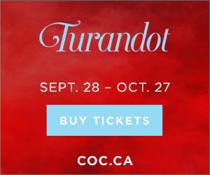 Canadian Opera Company - 10/8/2019