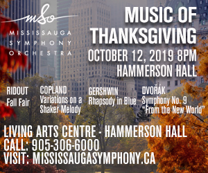 Mississauga Symphony - 10/13/2019