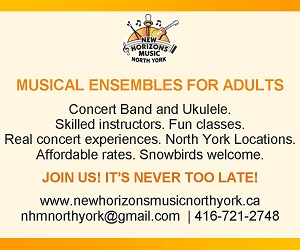 New Horizons Music North York - 9/30/2019