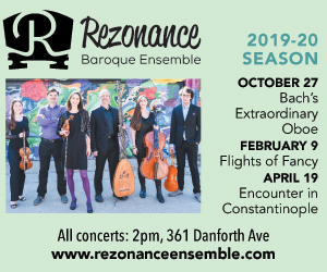Rezonance Baroque Ensemble - 10/8/2019