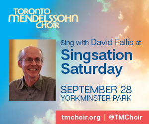Toronto Mendelssohn Choir #2 - 9/29/2019