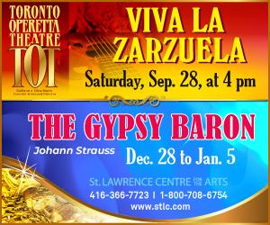 Toronto Operetta Theatre - 9/29/2019