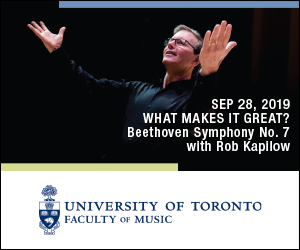 U of T Faculty of Music #2 - 9/29/2019