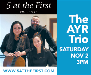 5 at the First Chamber Players - 11/3/2019