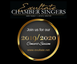 Exultate Chamber Singers - 8/11/2019
