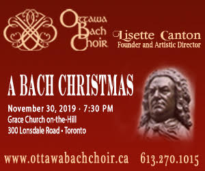 Ottawa Bach Choir - 12/1/2019